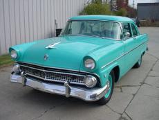 1955 FORD CUSTOMLINE 2 DOOR SEDAN 272, AUTO, RADIO, CLOCK, RESTORED