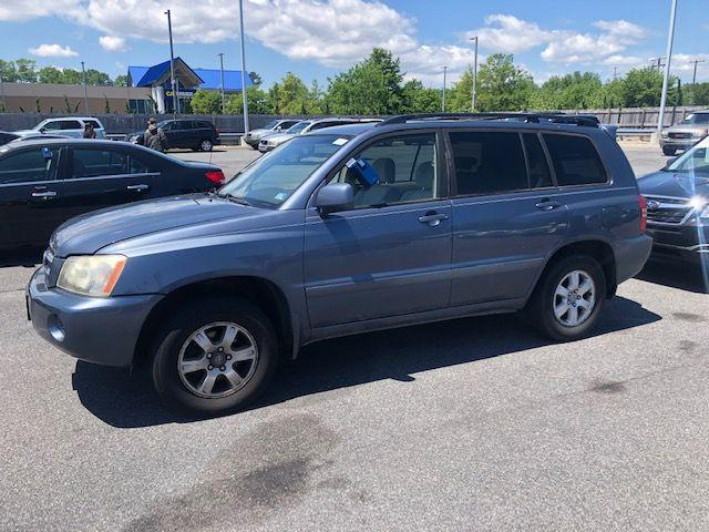 2003 TOYOTA HIGHLANDER LIMITED for sale in Norfolk, VA