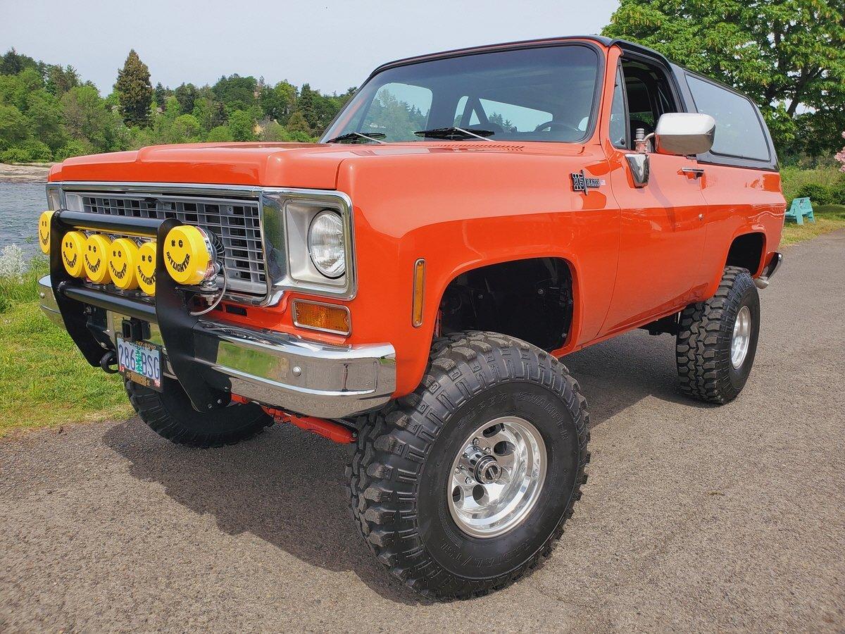 1989 Chevrolet Blazer K5 in Eugene, OR