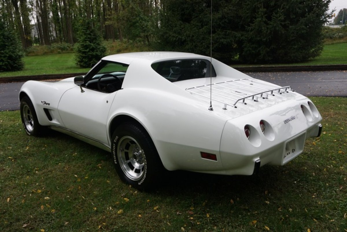 1976 Chevrolet CORVETTE 43,740 PAMPERED & GARAGE KEPT MILES L48 ENG COLD A/C MANY OPTIONS STUNNING APPEARENCE