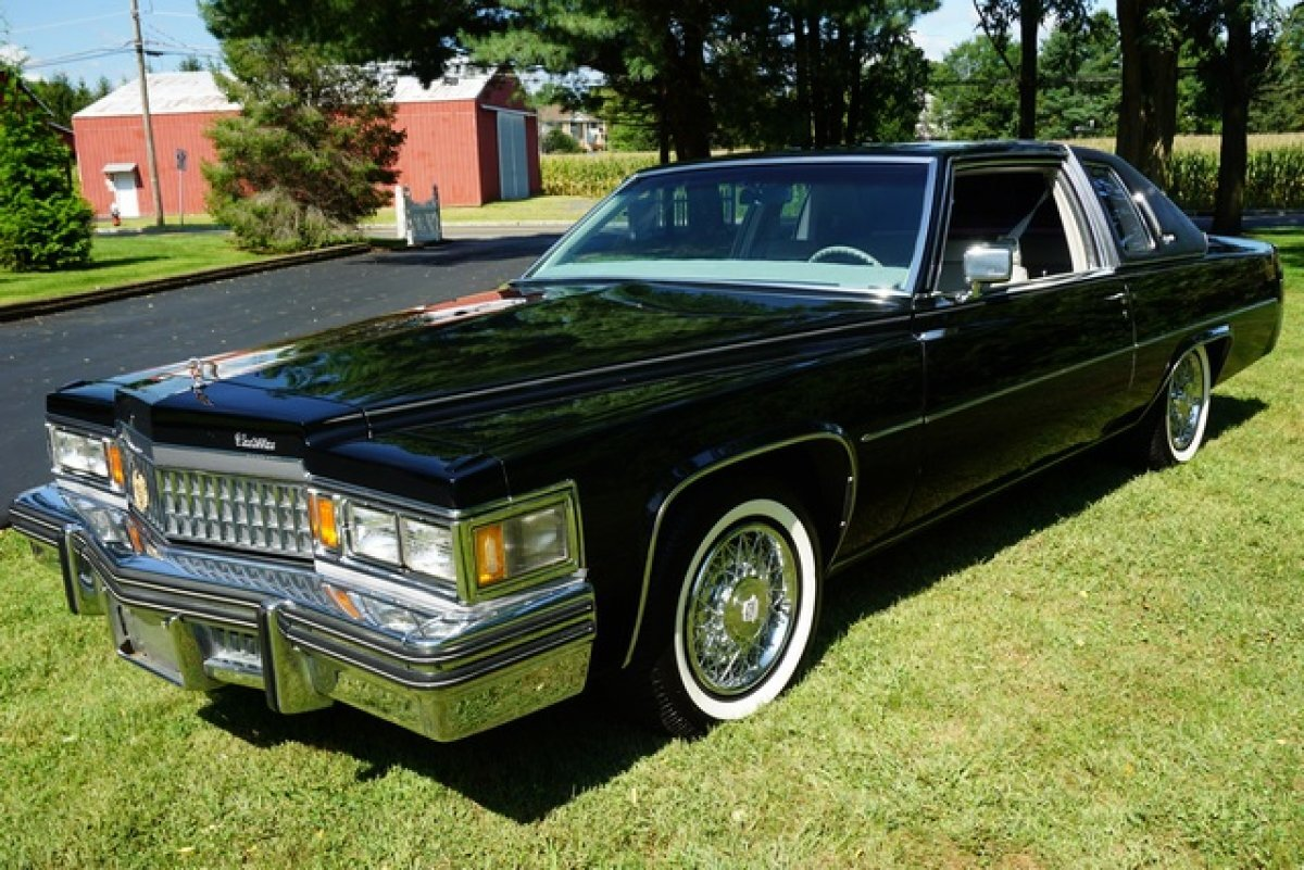 1978 CADILLAC CPE DEVILLE 41,424 miles MECHANICAL UPGRADES WITH RECEIPTSrare black on black beautiful THRU OUT for sale in Monroe Twp, NJ