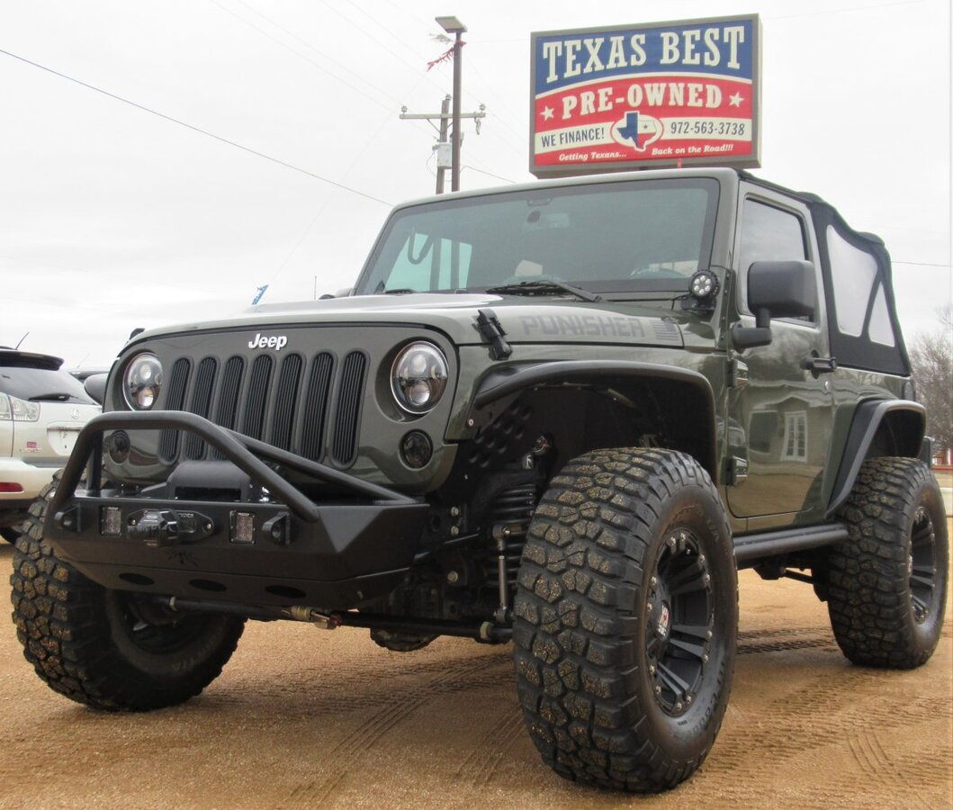 2016 JEEP WRANGLER RUBICON 4WD for sale in Terrell, TX