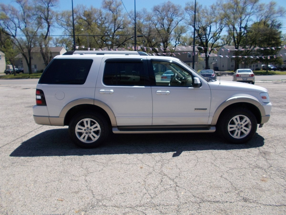 2007 FORD EXPLORER EDDIE BAUER 4.0L 4WD for sale in Whitehall, OH