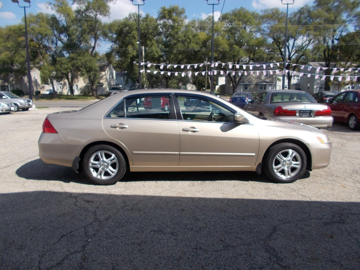 2007 HONDA ACCORD for sale in Whitehall, OH