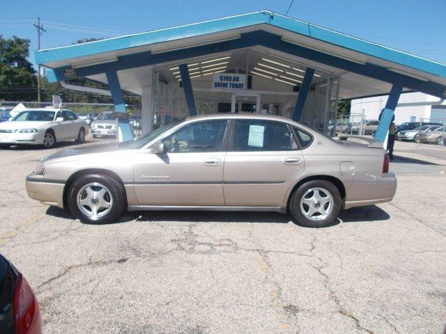 2002 CHEVROLET IMPALA LS for sale in Whitehall, OH
