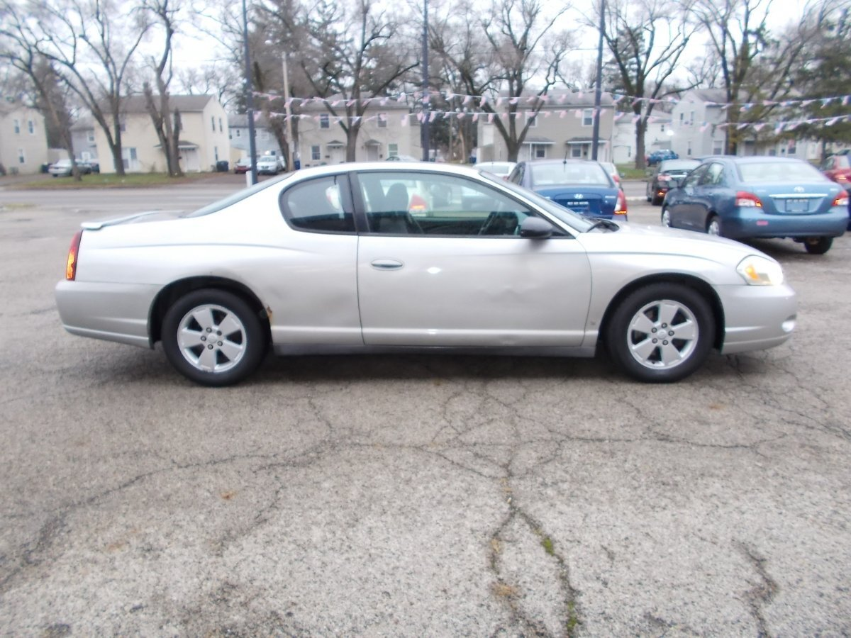 2006 CHEVROLET MONTE CARLO LT 3.5L for sale in Whitehall, OH